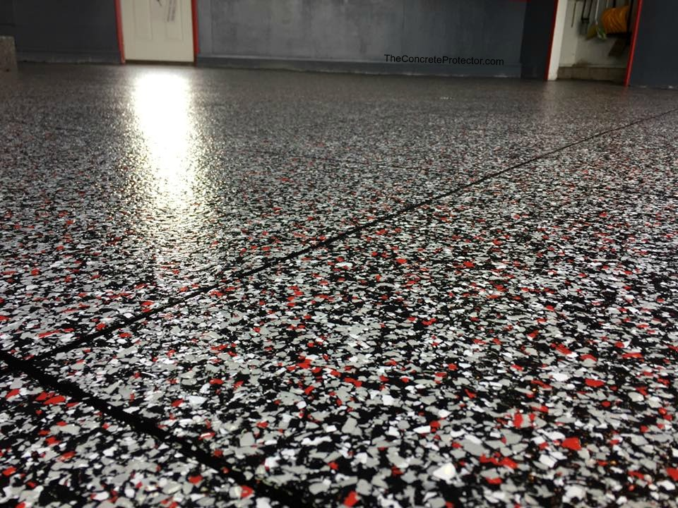 Epoxy Flake Flooring | Moon, Pennsylvania