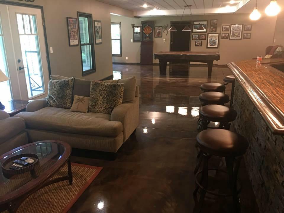 Metallic Marble Epoxy Flooring | Youngstown, Ohio