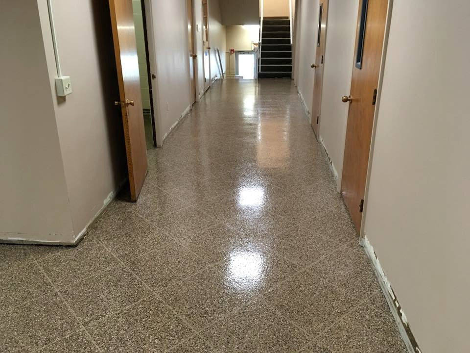 Epoxy Flake Flooring | Pittsburg, Pennsylvania
