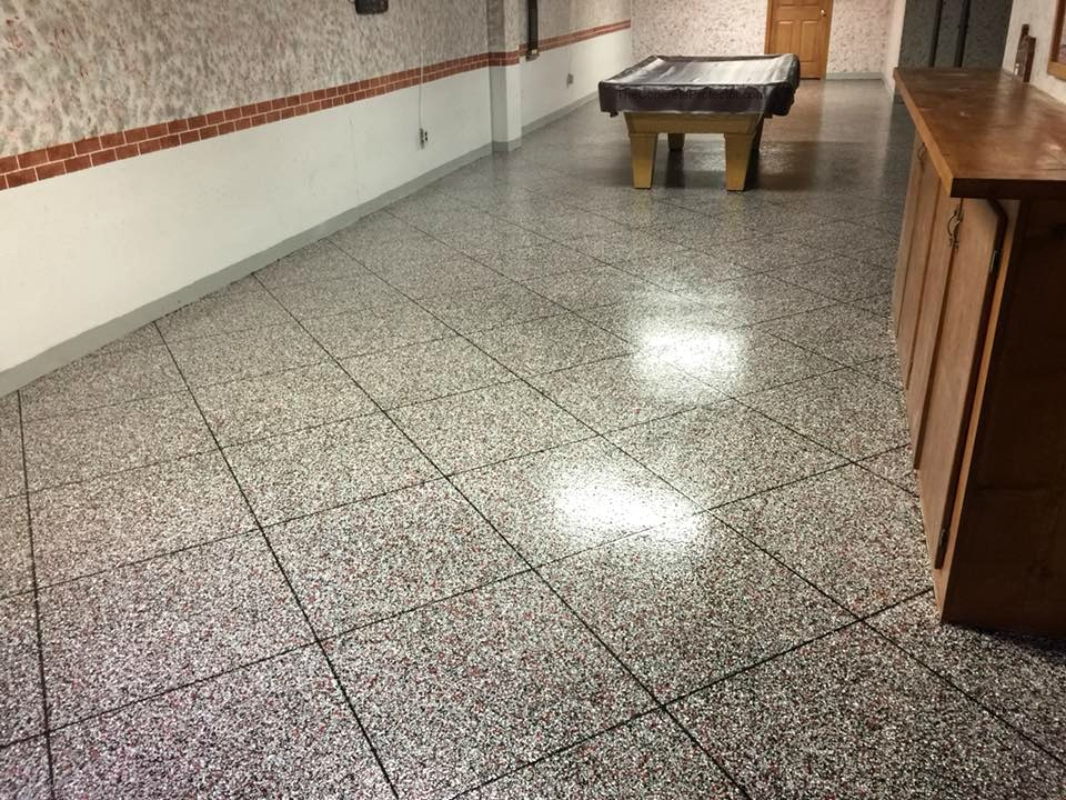Epoxy Flake Flooring | New Castle, Pennsylvania