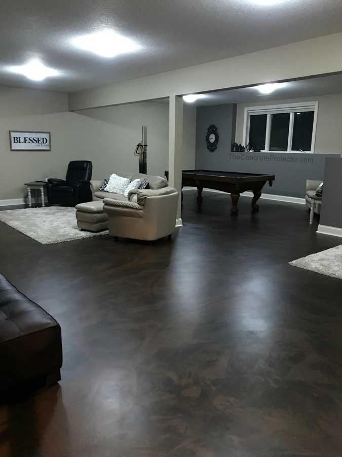 Metallic Marble Epoxy Flooring | Grove City, Ohio