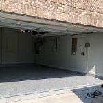 Epoxy Flake Concrete Garage Flooring